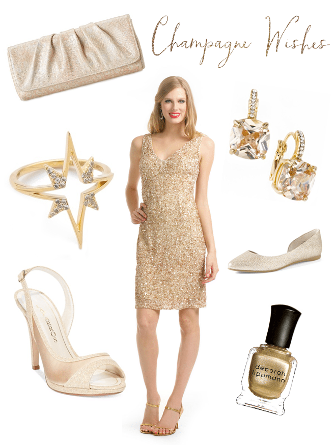 Holiday Style: Champagne Wishes