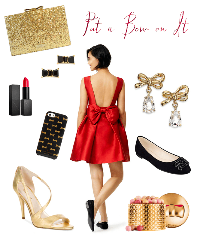 Kate Spade Bow Holiday Style