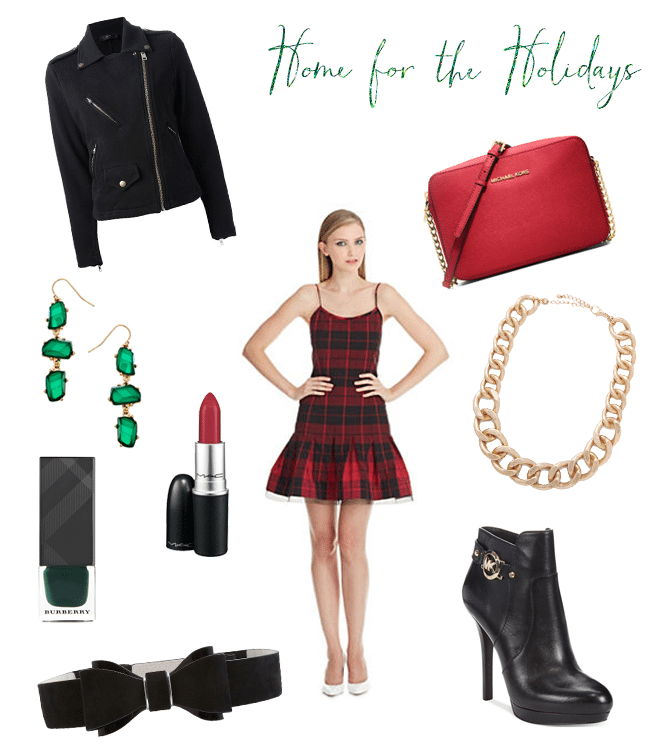 Tartan Plaid Holiday Party Style