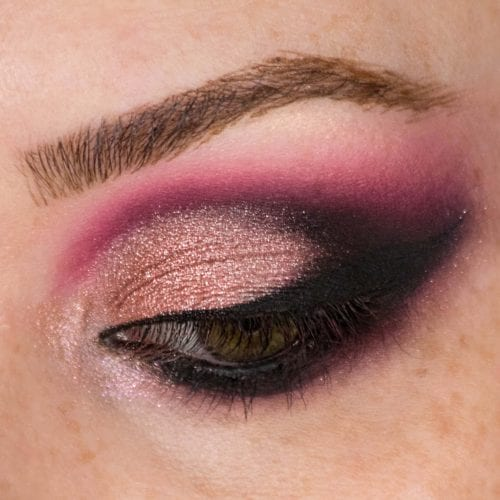 Glam It Up With Glitter: DIY Makeup Guide - Light Glitter to Smokey Eye Step 1