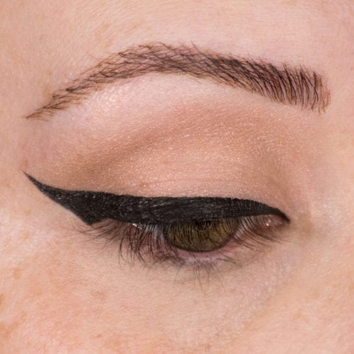 Glam It Up With Glitter: DIY Makeup Guide - Glitter Wing Step 1