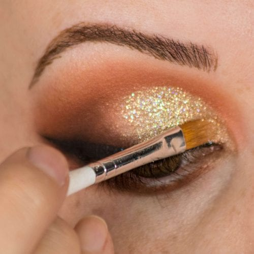 Glam It Up With Glitter: DIY Makeup Guide - Glitter Sparkle Step 2