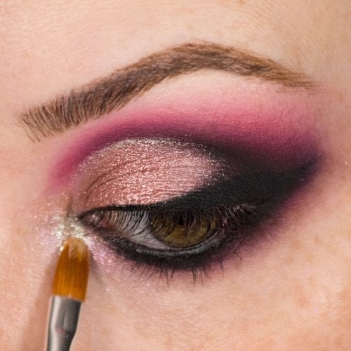 Glam It Up With Glitter: DIY Makeup Guide - Light Glitter to Smokey Eye Step 3