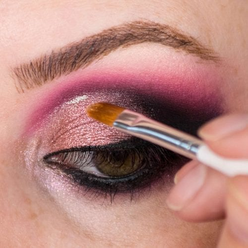 Glam It Up With Glitter: DIY Makeup Guide - Light Glitter to Smokey Eye Step 2