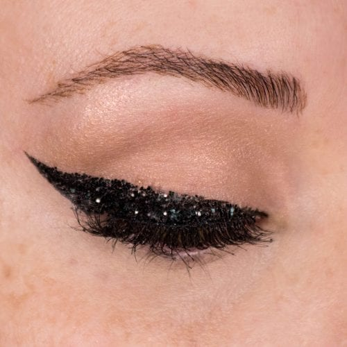 Glam It Up With Glitter: DIY Makeup Guide - Glitter Wing Step 3