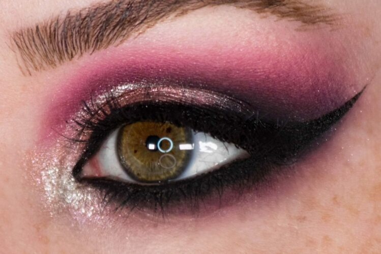 Glam It Up With Glitter: DIY Makeup Guide - Light Glitter to Smokey Eye Step 4