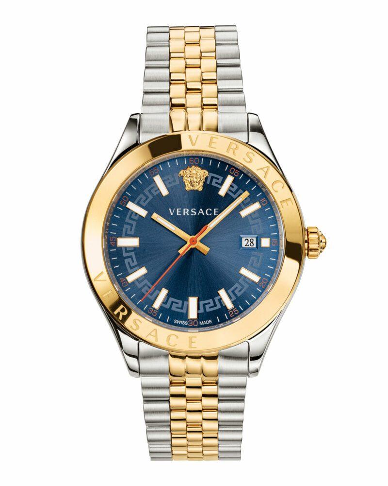 Versace Men's Hellenyium Two-Tone Bracelet Watch