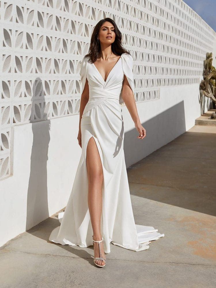Abby mermaid dress from the Pronovias wedding collection