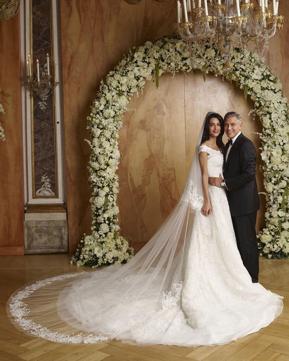 Amal Alamuddin's wedding dress