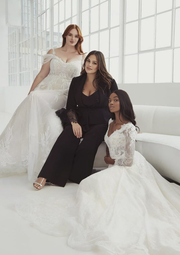 Ashley Graham's curvy bridal collection