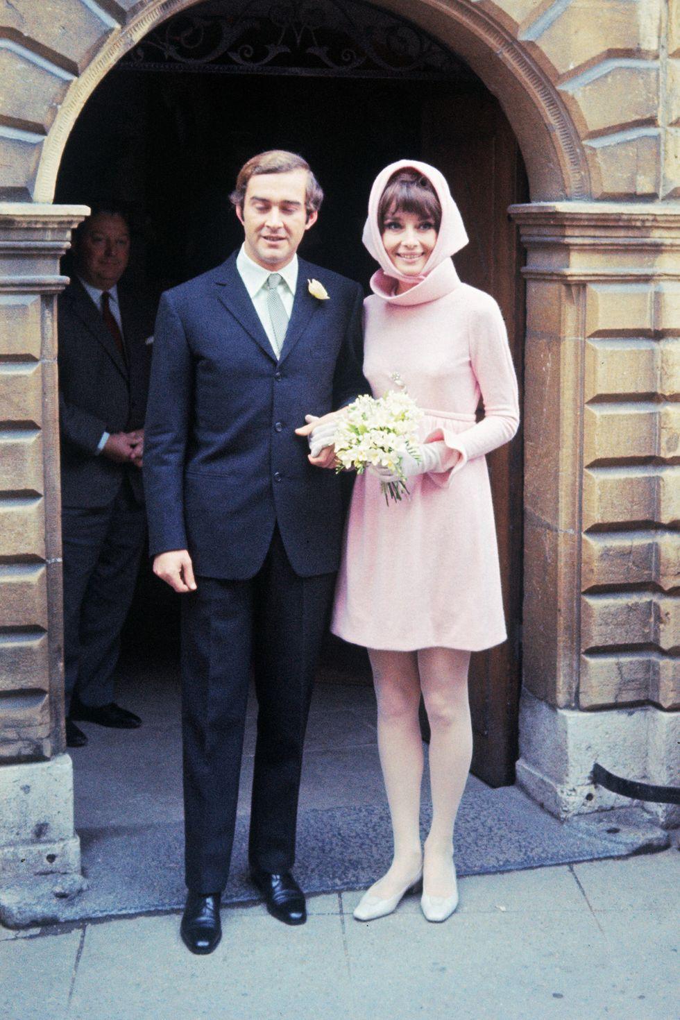 Audrey Hepburn's 1969 wedding dress