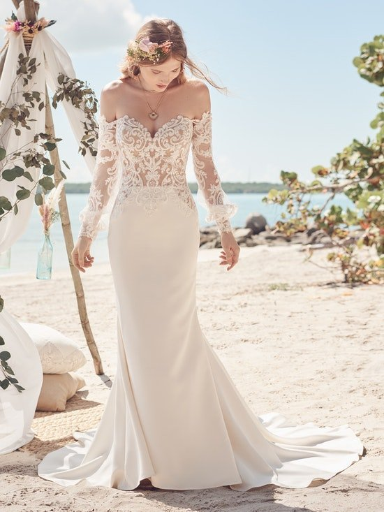 Beverly gown by Rebecca Ingram