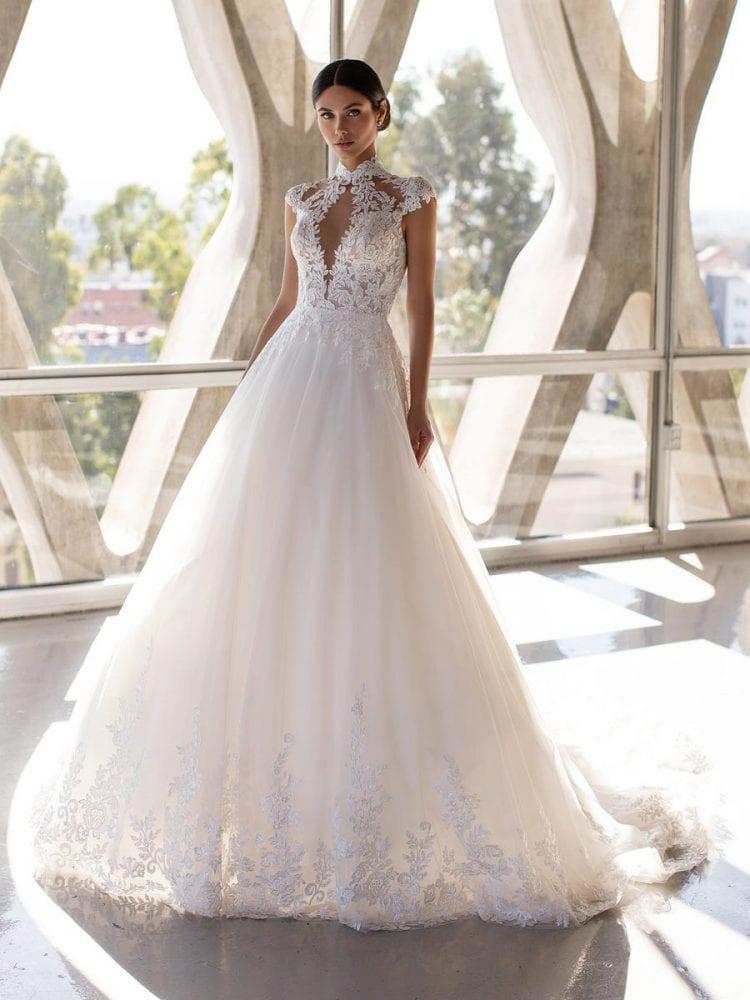 Blyth wedding dress from the Pronovias wedding collection
