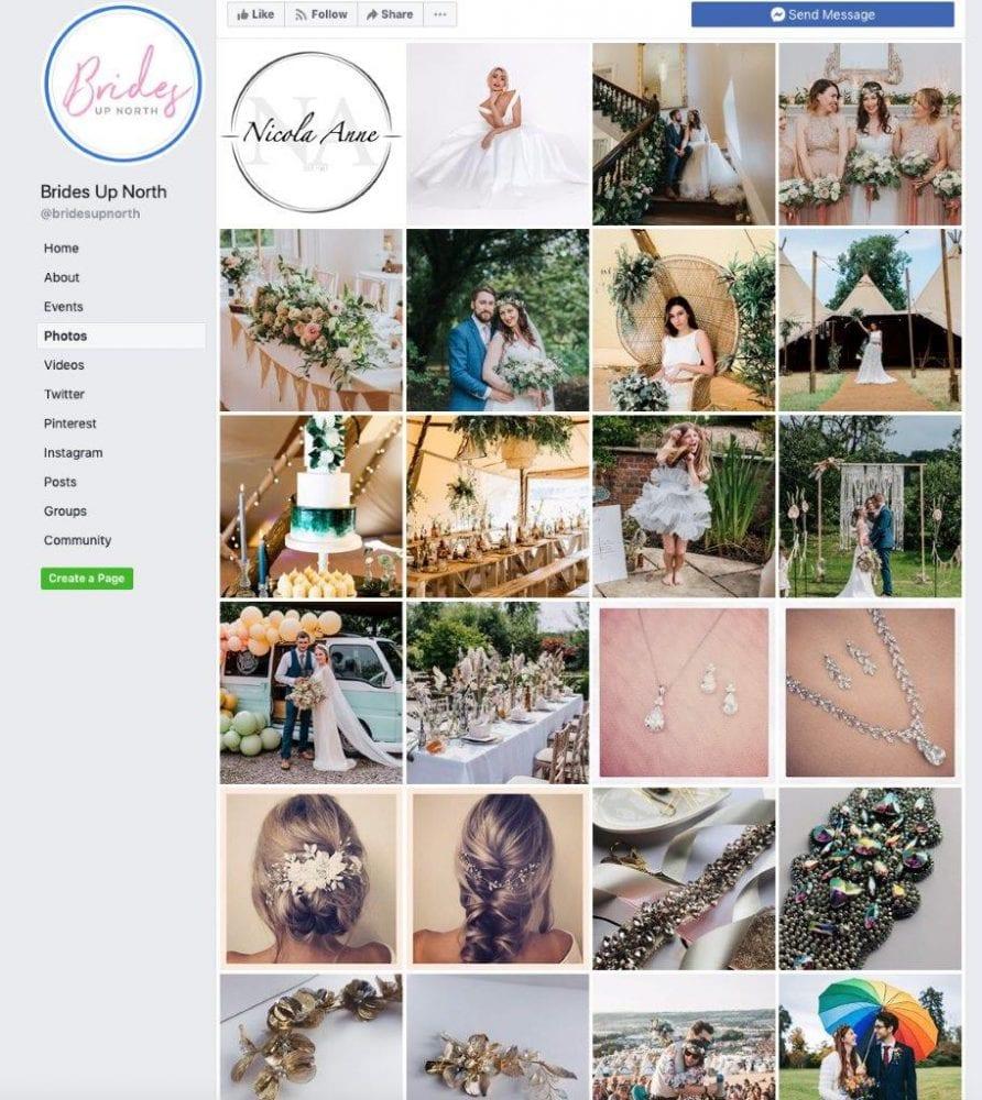 Brides Up North's Facebook
