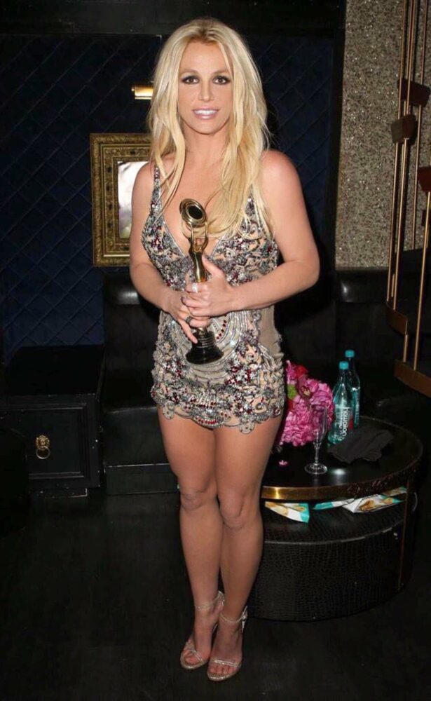 Britney Spears at the Hollywood beauty award