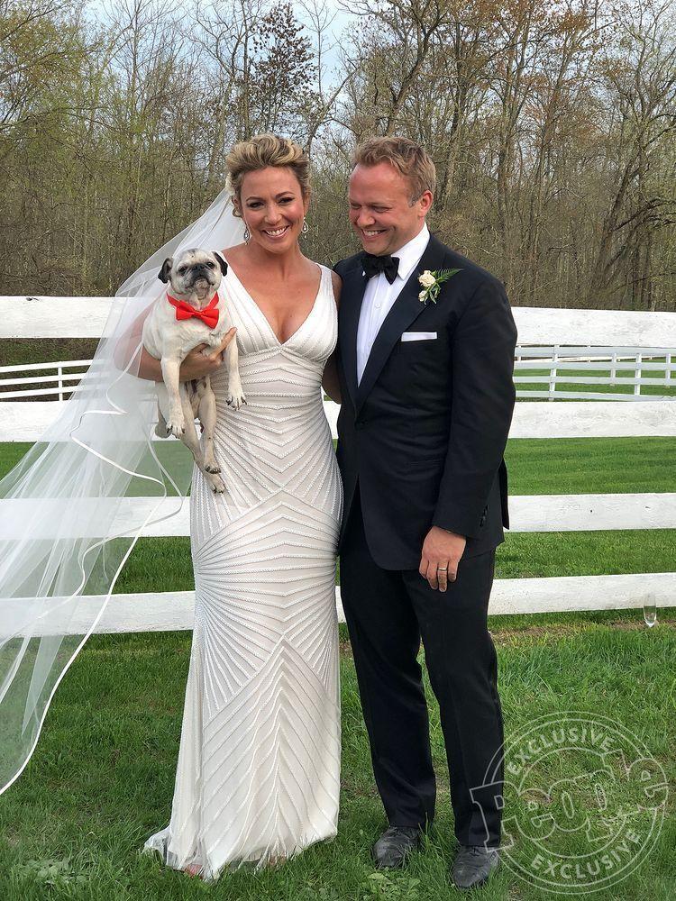 CNN Journalist Brooke Baldwin's wedding dress