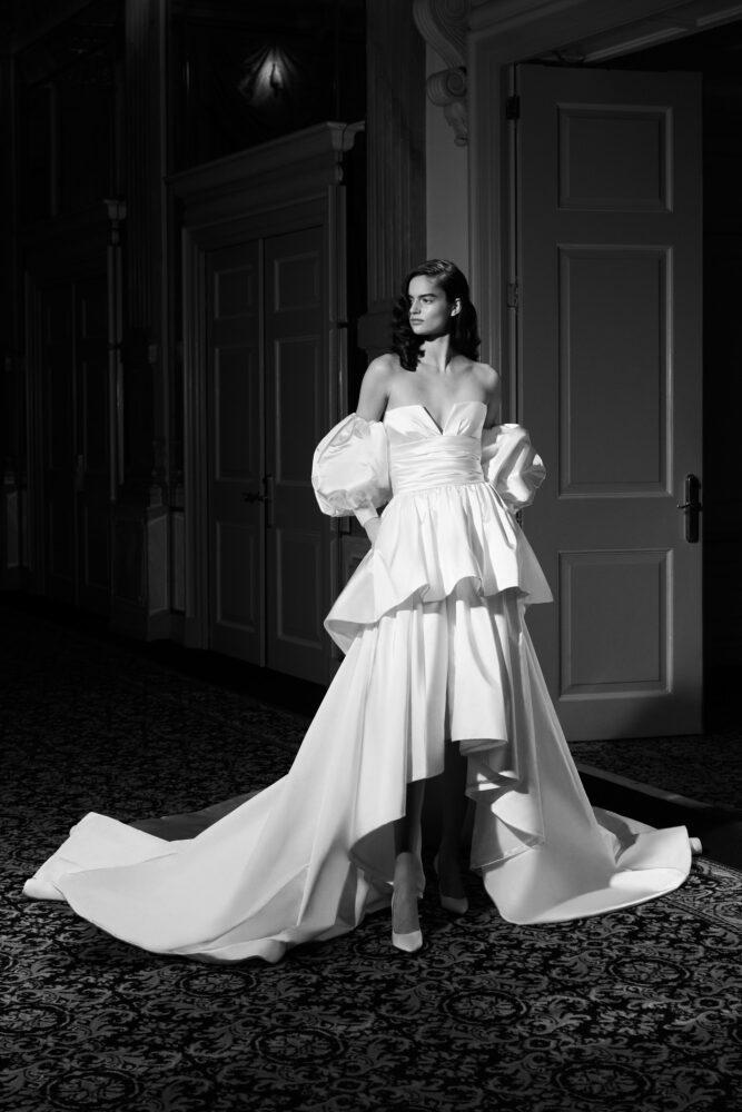 Duchesse drama gown by Viktor&Rolf