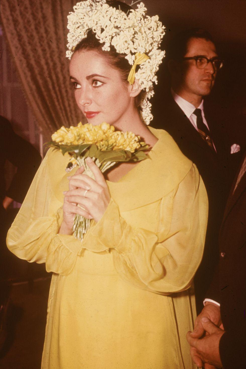 Elizabeth Taylor's 1964 wedding dress