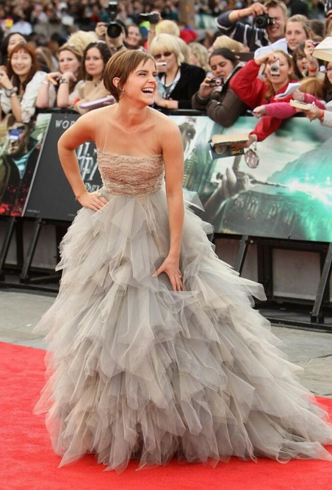 Emma Watson at the final Harry Potter premiere