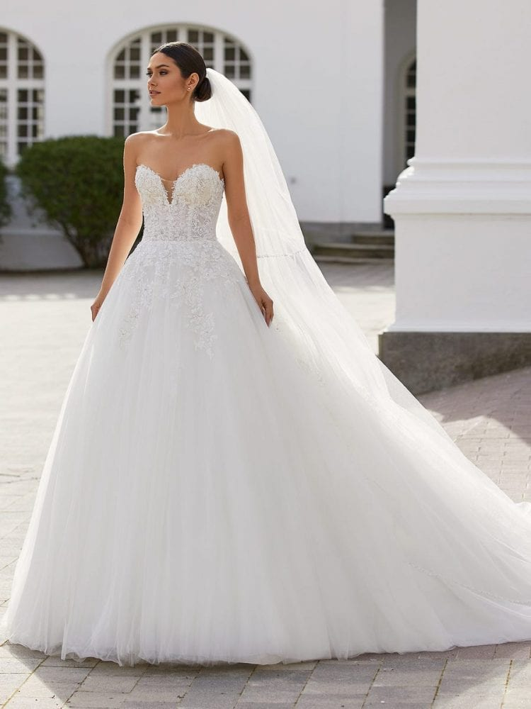 Ernestine ballgown from the Pronovias wedding collection