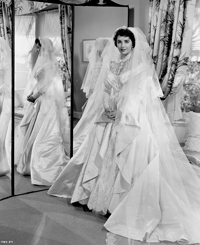 Father of the Bride 1950 wedding dress