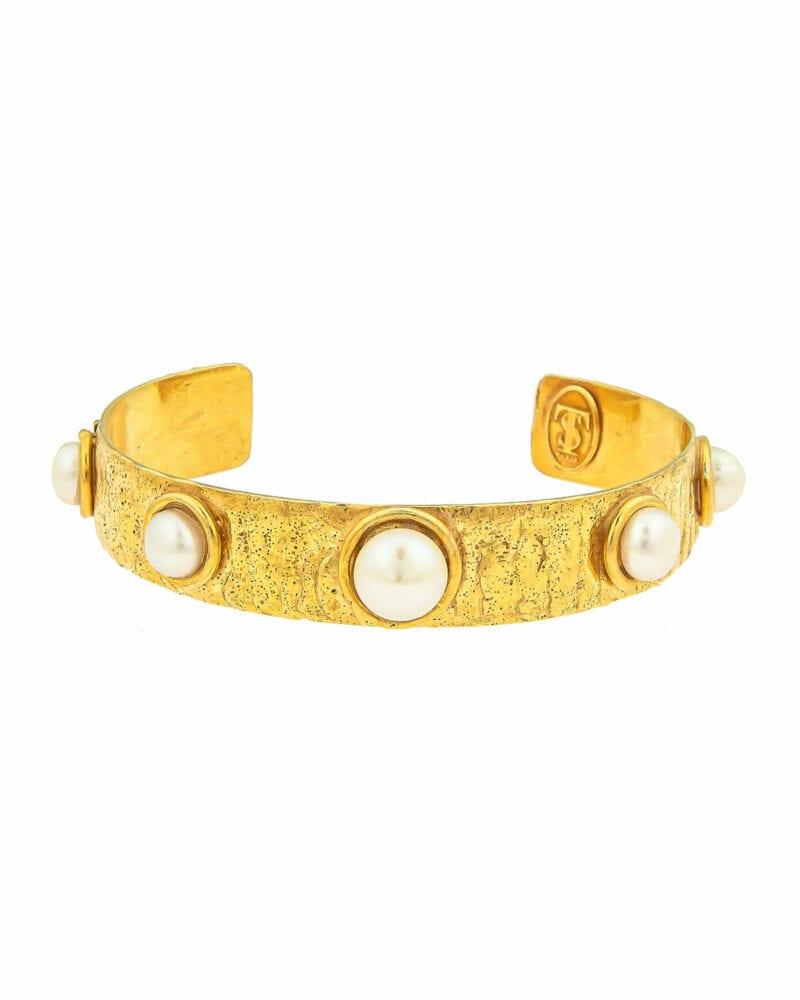 Gold Sylvia Toledano bracelet