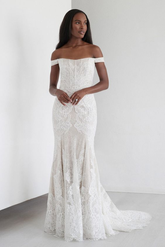 Hawthorne gown from Watters Fall 2021 Bridal collection