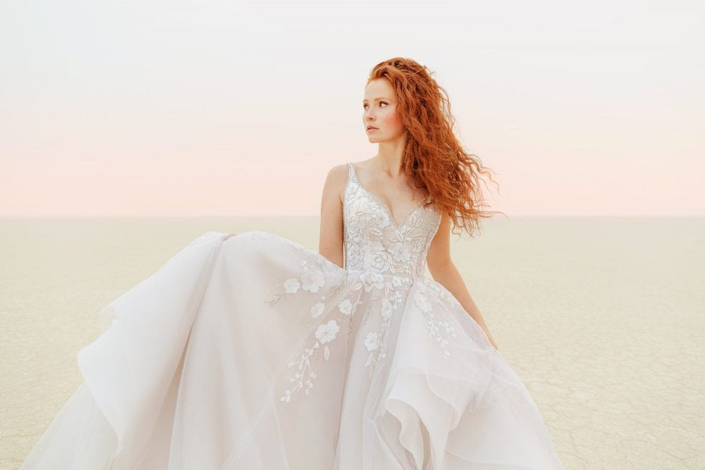 Hermione gown from Hayley Paige Spring 2021 collection
