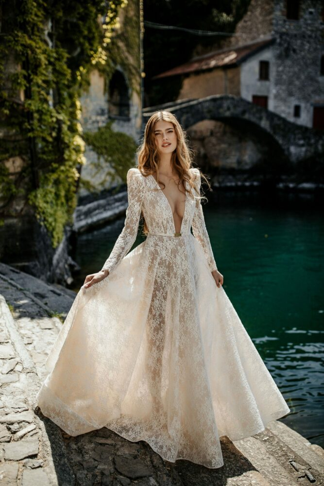 Isabel gown from Berta's MUSE Como 2022 bridal collection