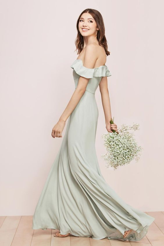 Isabella gown from the WTOO bridesmaid collection