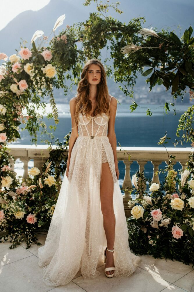 Isadora gown from Berta's MUSE Como 2022 bridal collection