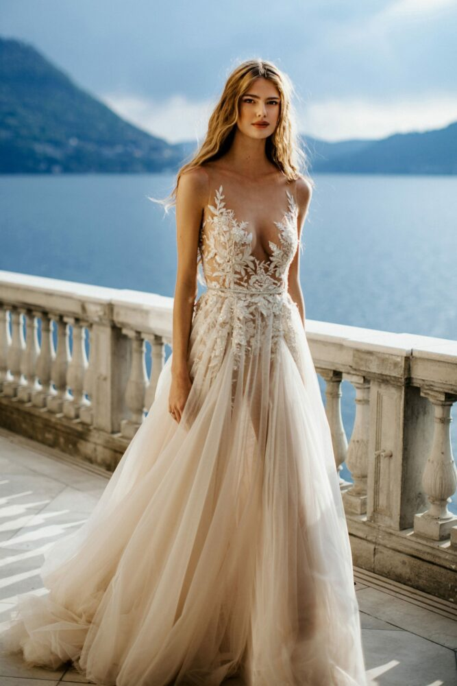 Ivone gown from Berta's MUSE Como 2022 bridal collection
