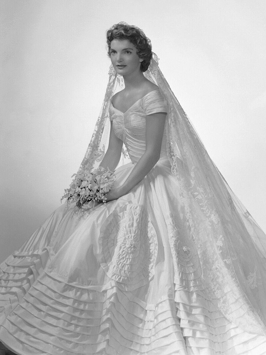 Jacqueline Kennedy's wedding dress