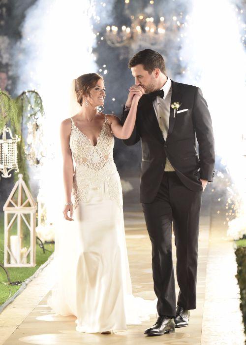 Jade Roper's Galia Lahav wedding dress