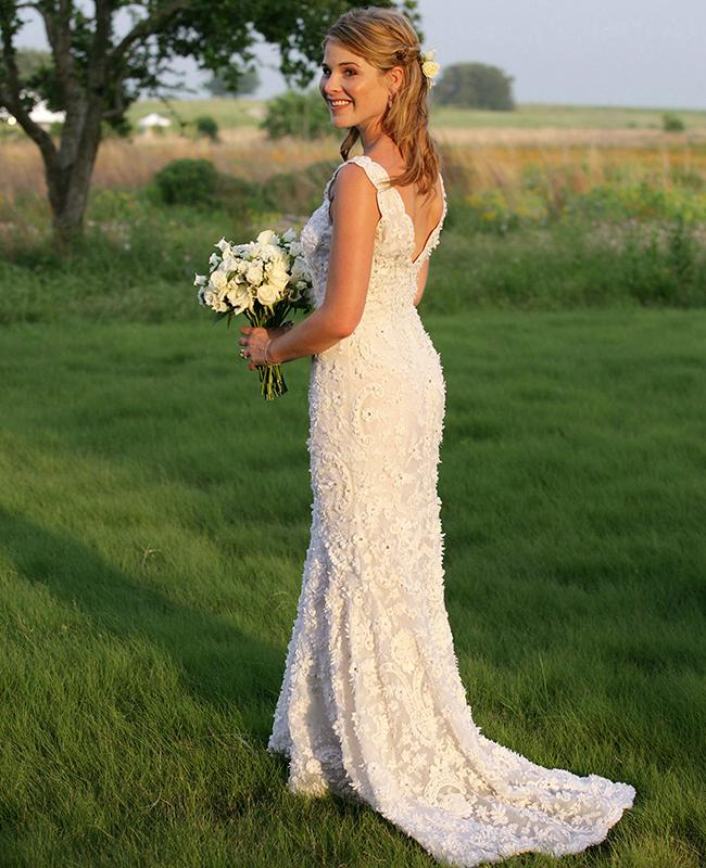 Jenna Bush's wedding dress
