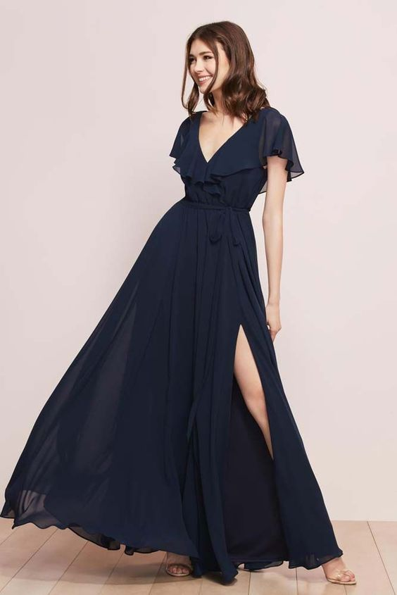 Jordi gown from the WTOO bridesmaid collection