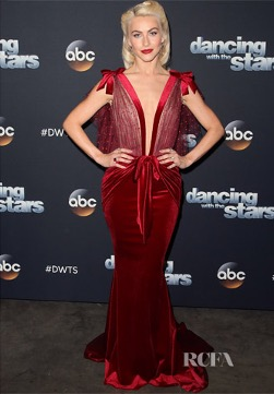 JULIANNE HOUGH IN GALIA LAHAV 2017 SPRING COUTURE GOWN