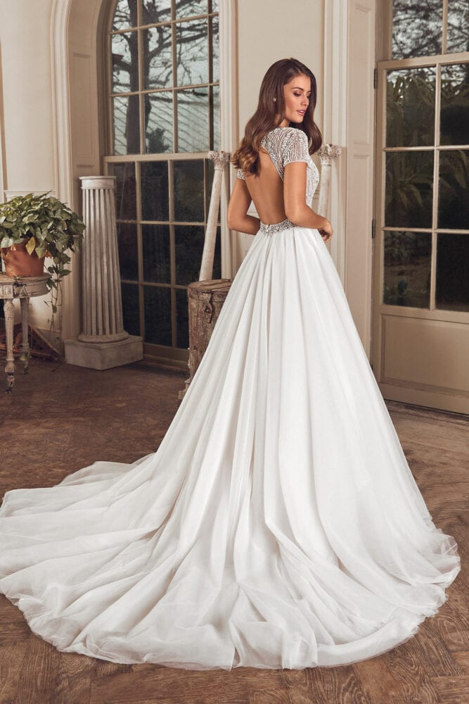 Justin Alexander Avery gown