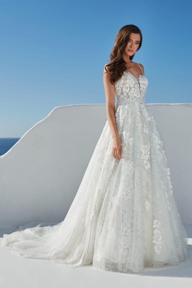 Justin Alexander Bali gown