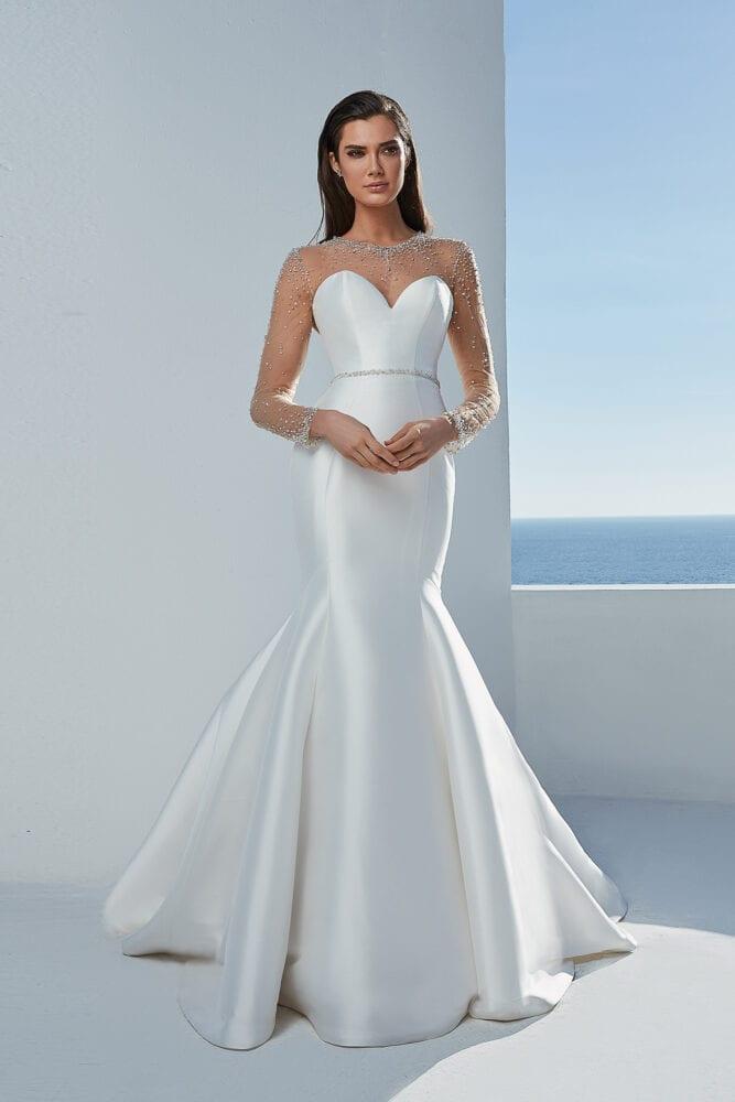 Justin Alexander Blaire gown