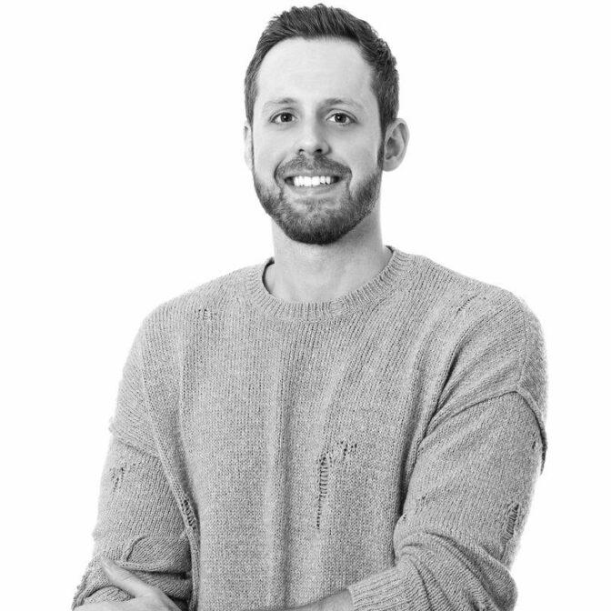 Justin Alexander's designer and president Justin Warshaw