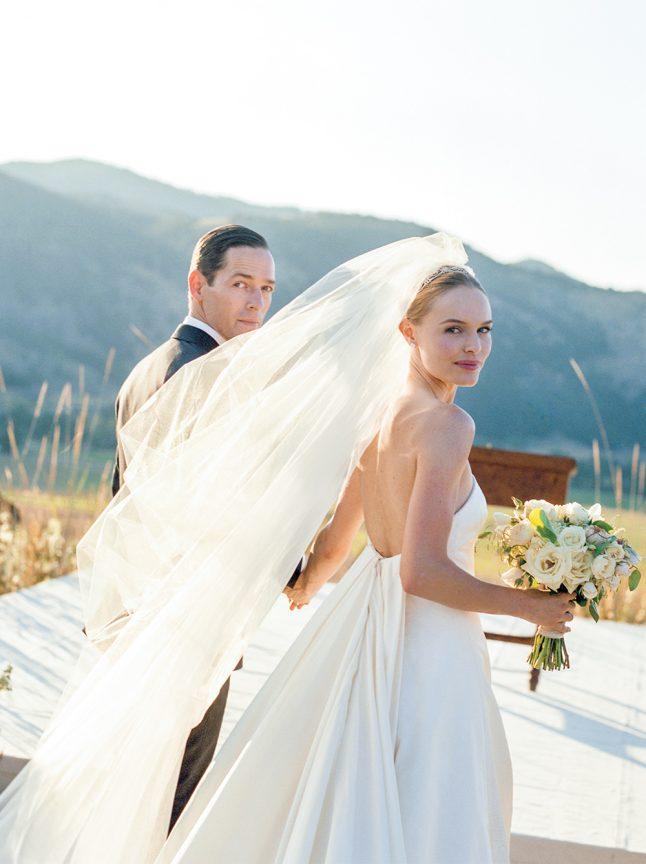 Kate Bosworth's wedding dress