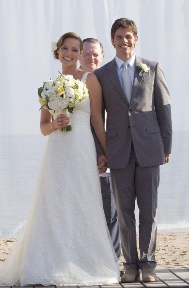 Katherine Heigl in 27 Dresses wedding dress