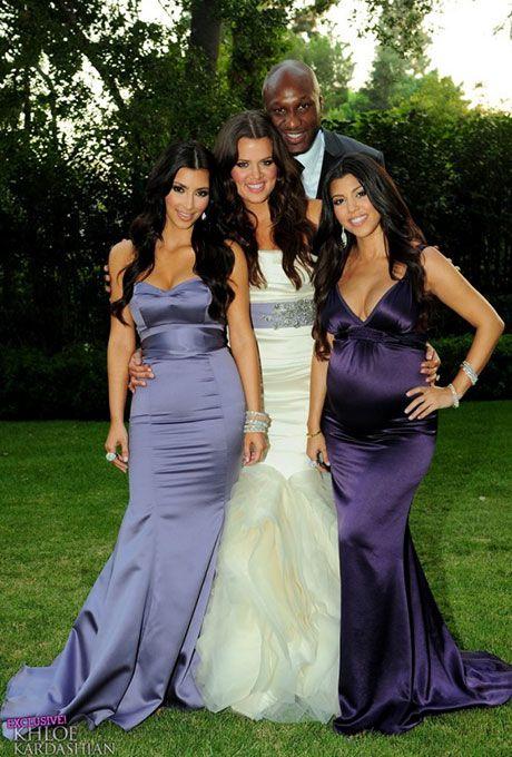 Khloe Kardashian's Vera Wang wedding dress