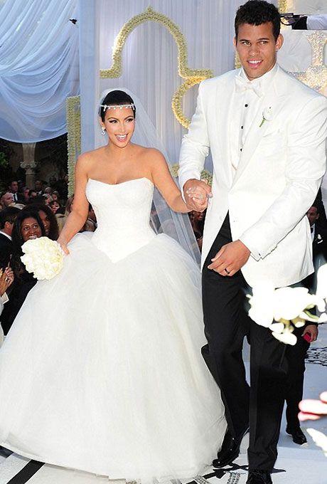 Kim Kardashian's Vera Wang wedding dress