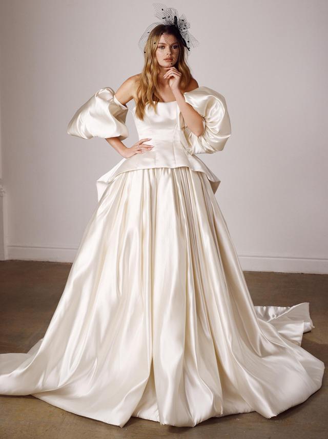 Lady G gown from Galia Lahav