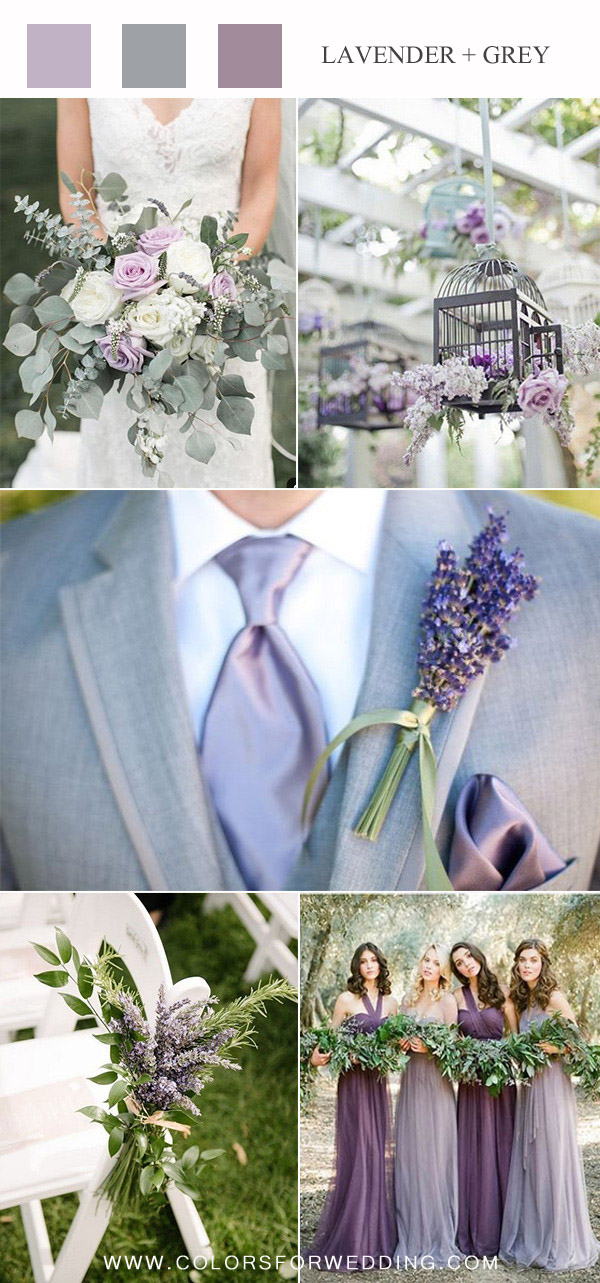 Lavender & Pale Lilac Wedding