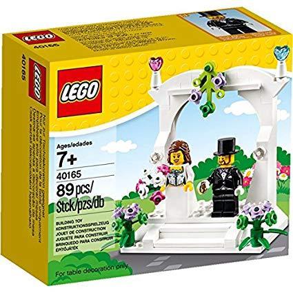 Lego set wedding favors