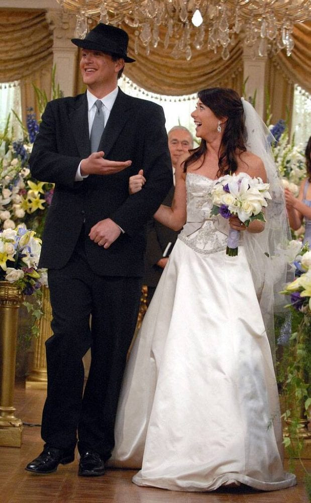 Lily's wedding dress from How I Met Your Mother
