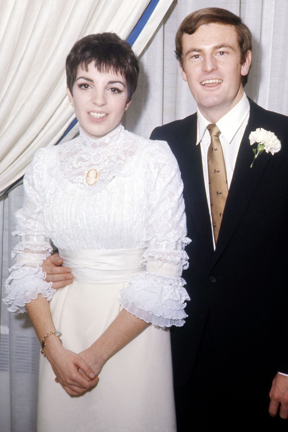 Liza Minelli's 1967 wedding dress
